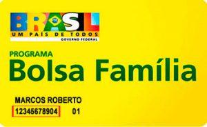 Número do NIS no Cartão Bolsa Familia