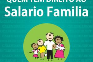 Salário Família 2019