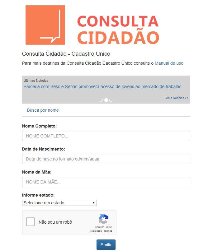Consulta Cidadão 2019