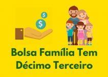 Décimo Terceiro Bolsa Família