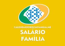 Salário Família 2021